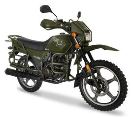 Мотоцикл SHINERAY XY 200 INTRUDER (Зелёный) 1