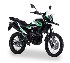 Мотоцикл SHINERAY XY200GY-6C (Зелёный) 1