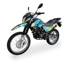 Мотоцикл SHINERAY XY200GY-6C (Сине-жёлтый) 1