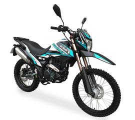 Мотоцикл SHINERAY XY250GY-6C Cross (Бирюзовый) 1