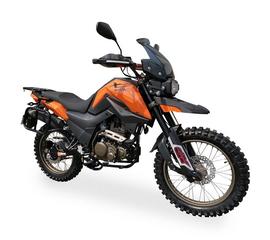 Мотоцикл Shineray X-Trail 250 Trophy (Оранжевый) 1