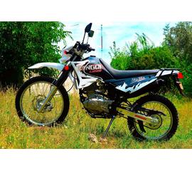 Мотоцикл SKYBIKE LIGER I 200 (Белый) 1