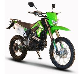 Мотоцикл SKYBIKE CRDX 200 (Зеленый) 1