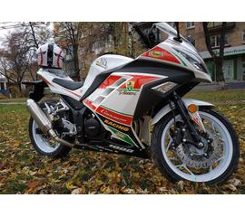 Мотоцикл KV HT250-3A Sport Белый 1