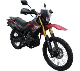 Мотоцикл FORTE FT250GY-CBA (Красно-черный) 1