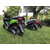 Скутер KV HT150-25 GEAR Зеленый 11